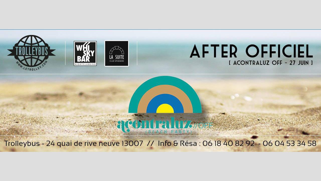 ACONTRALUZ, Défi de Monte Christo, 27 Juin 2015, trolleybus, marseille, club, discotheque