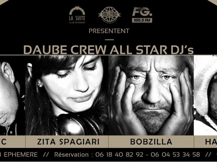DAUBE CREW ALL STAR DJ'S INVESTIT LA SUITE (BOBZILLA) #TROLLEYBUS
