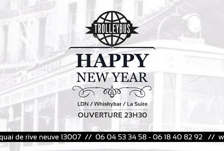 Le Trolleybus vous invite à fêter la nouvelle année