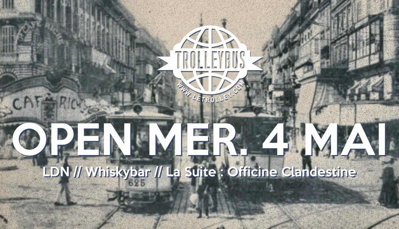 Trolleybus, marseille, boite de nuit, discotheque, vieux port