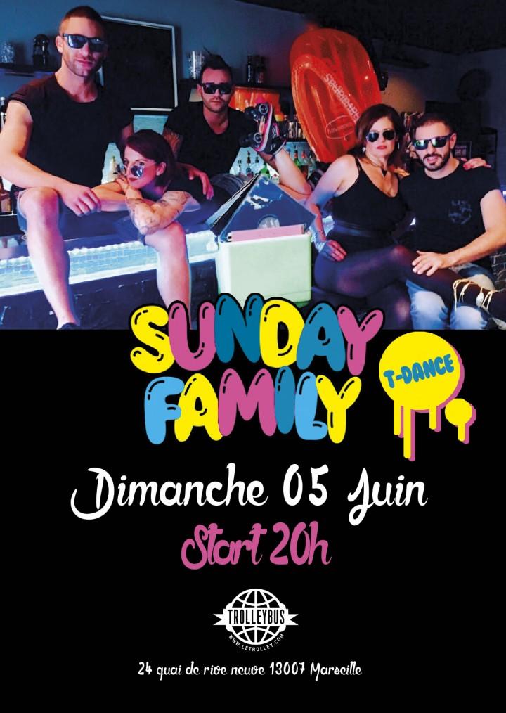 Sunday-Family, marseille, gay, club, dimanche