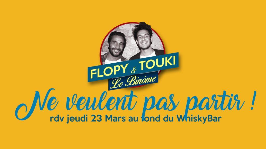 Flopy Touki3 1024x576 PROGRAMME du 23 au 25 Mars