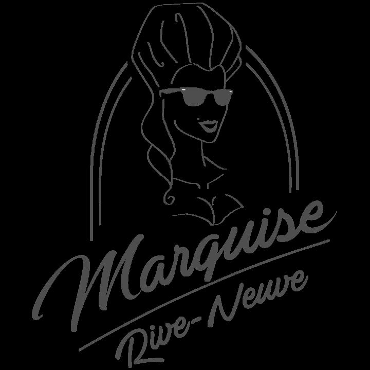 Marquise Rive-Neuve, logo, trolleybus, marseille, vieux port, club privé.