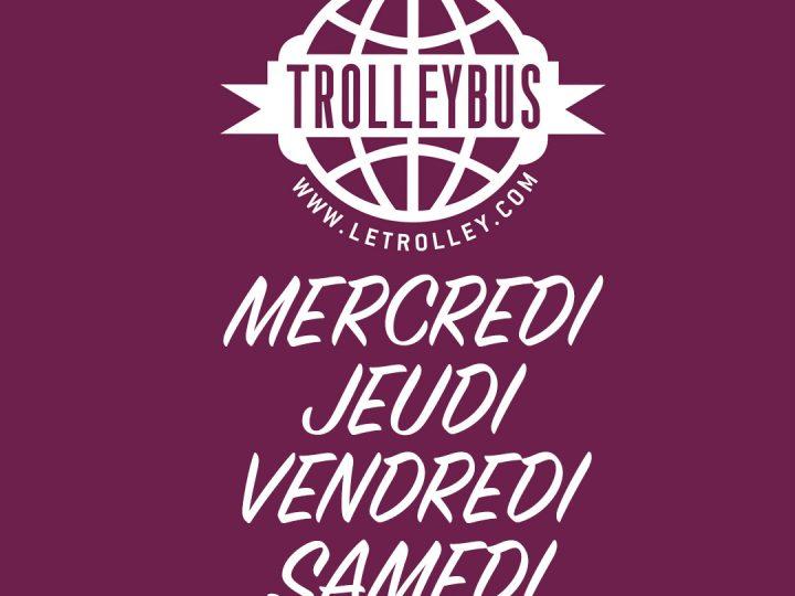 trolley, trolleybus, marseille, boite de nuit, mercredi soir
