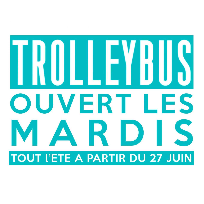 Mardi trolleybus, marquise, boite de nuit, la dame noir