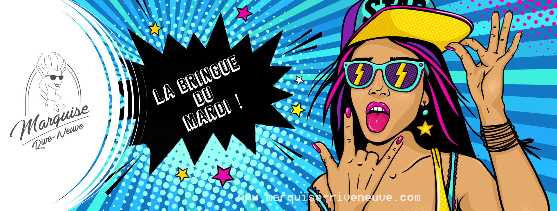 Marquise POP11 La Bringue du Mardi : #10 Mardi Pop !!