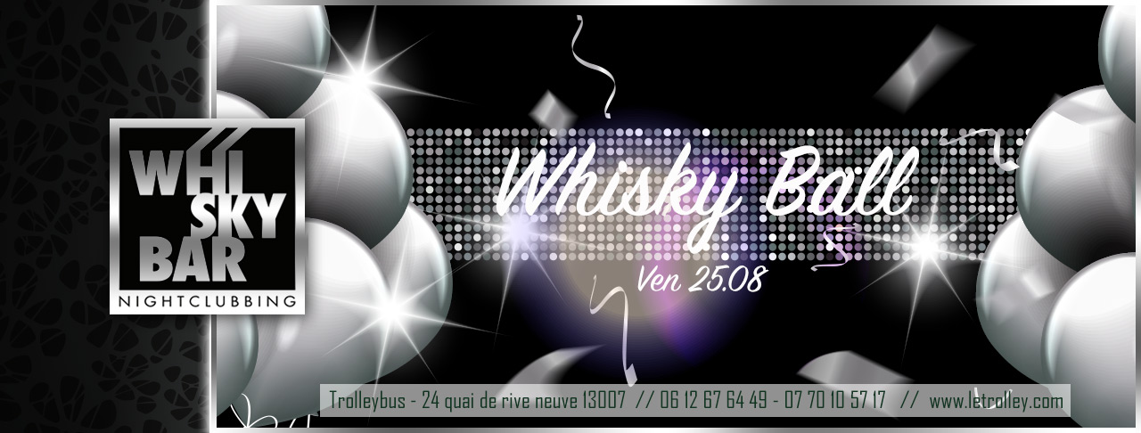 WhiskyBarball PROGRAMME du 24 au 26 Aout :