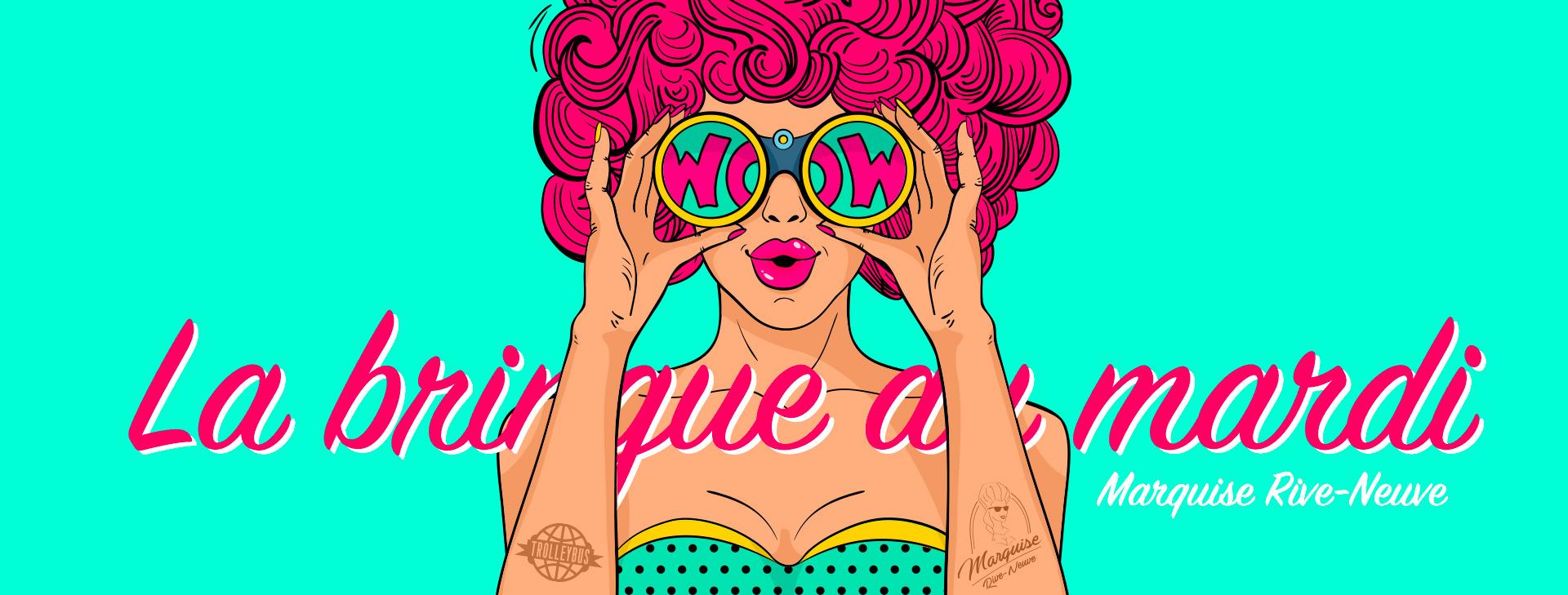 Marquise mardi La Bringue du Mardi : #12 Mardi Pop