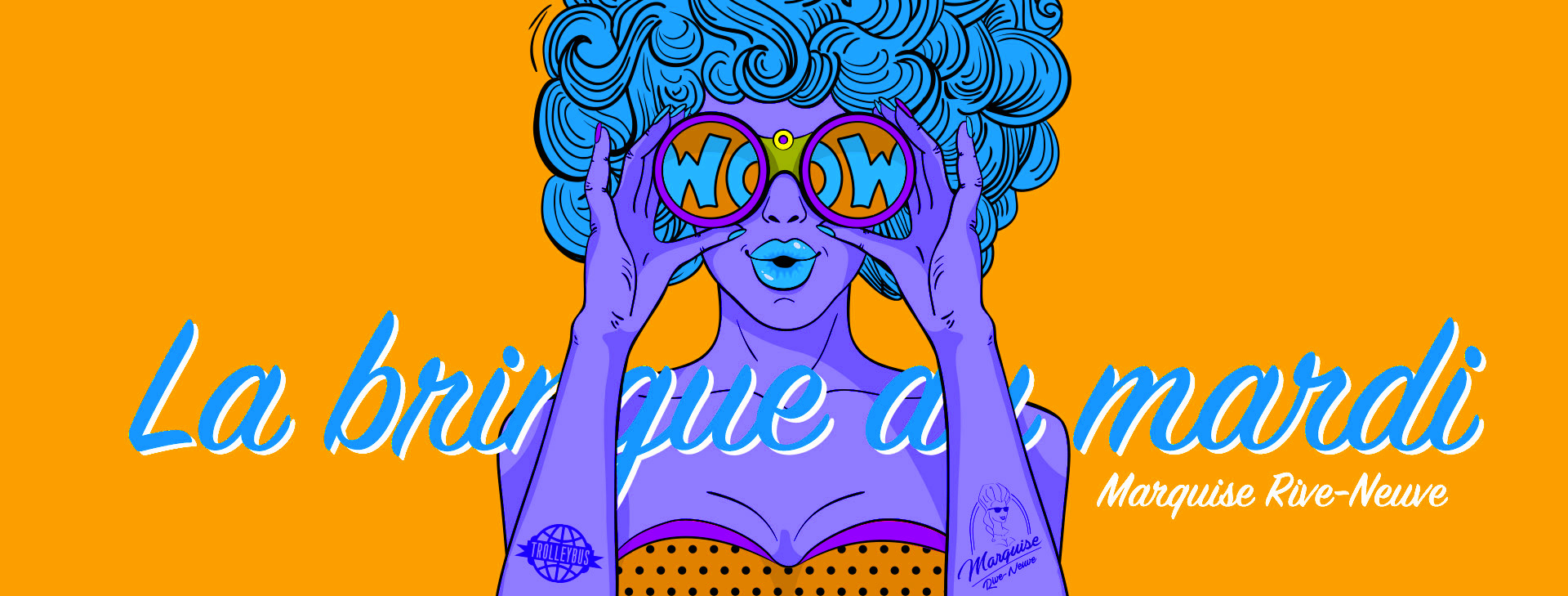 Marquise mardi19 La Bringue du Mardi : #13 Mardi Pop