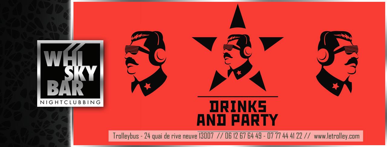 WhiskyBarRussian WE DE PÂQUES : 4 JOURS DOUVERTURE !!