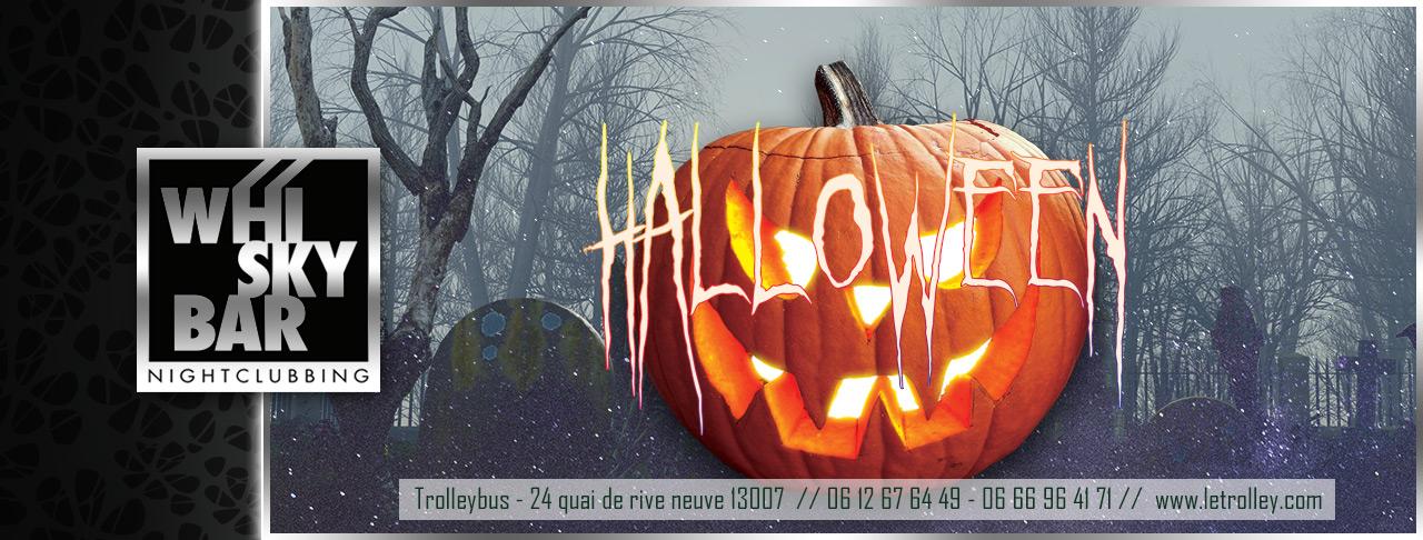 WB Halloween VEILLE DE JOUR FÉRIÉ : MERCREDI 31 OCTOBRE // HALLOWEEN