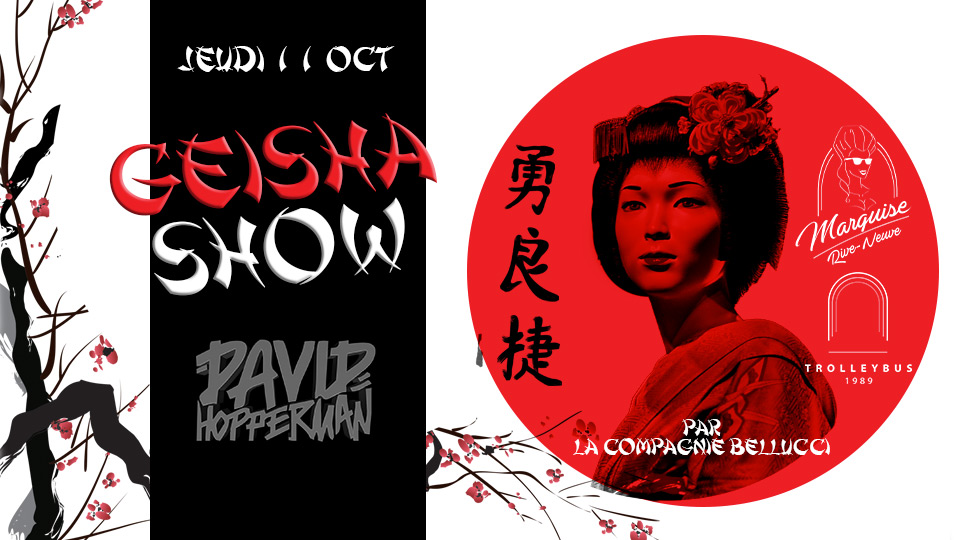 geisha, cabaret, belucci