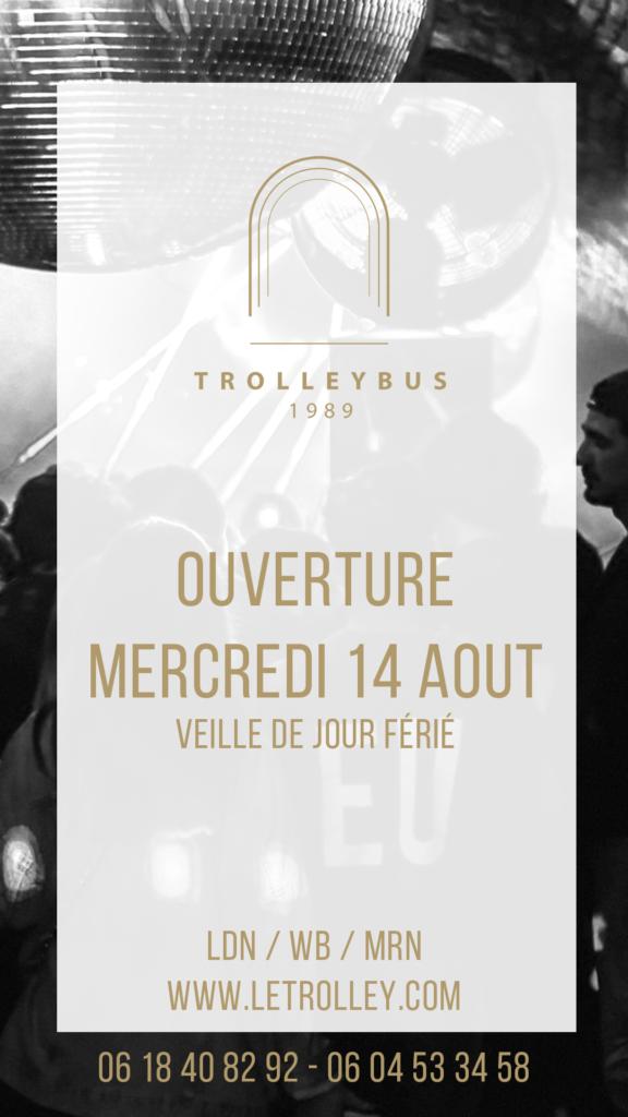 14 Aout 576x1024 Trolleybus : OUVERT MERCREDI 14 AOÛT (Veille de jour férié)