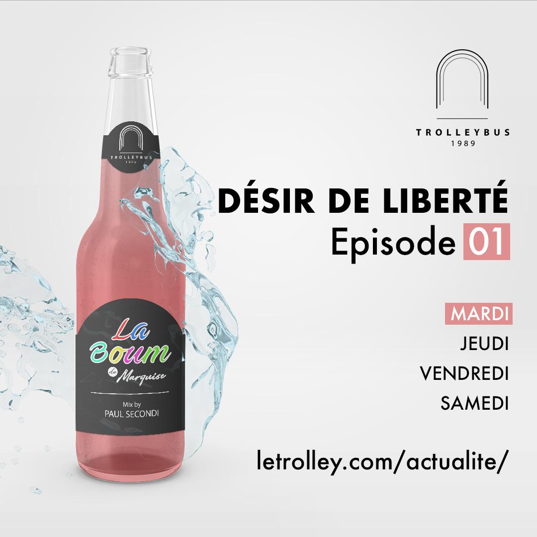Mardi 01 DÉSIR DE LIBERTÉ   Épisode 01 (La Boum de Marquise)