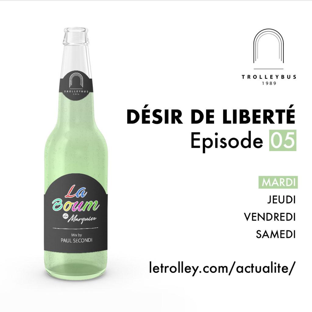 Mardi 05 1024x1024 DÉSIR DE LIBERTÉ   Épisode 05 (La Boum de Marquise)